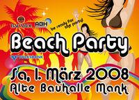 Beach Party@Alte Bauhalle