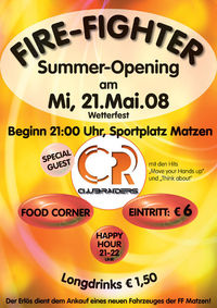Fire-Fighter Summer Opening@Sportplatz