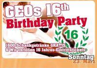 GEOs 16th Birthday Party