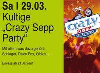 """Kultige """"Crazy Sepp"""" Party"""