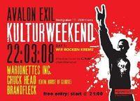 Avalon KULTURweekend@Avalon Exil