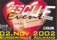 Rescue - Event@Bürgerhalle