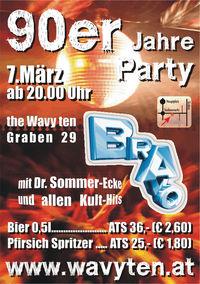 90er Jahre Party@The Wavy Ten Getränkebörse