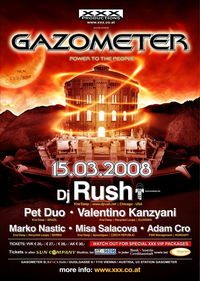 XXX Gazometer - Dj Rush