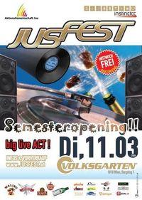 Original Jusfest Semesteropening@Volksgarten Clubdisco