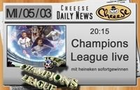 Champions League live@Cheeese