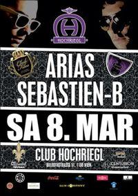 Sebastien-B & Arias LIVE@Club Hochriegl