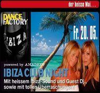 Ibiza Club Night@Amadeus Dancefactory