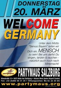 Welcome Germany!