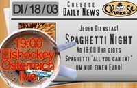 Spagetti Night@Cheeese