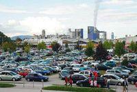 Auf Großen Parkplatzen finde ich mein kleines Auto nicht