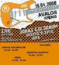 JONAS GOLDBAUM @ Rockability 12@Avalon Exil