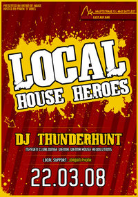 Local House Heroes - DJ Thunderhunt@Herbers: Lust.auf.Bar