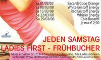 Ladies First - Frühbucher