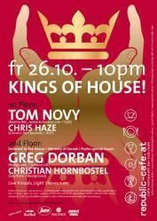 Kings of House mit Tom Novy