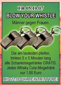Blow your whistle@Ballhaus Freilassing