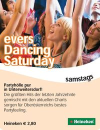 Dancing Saturday@Evers