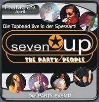 Liveband Seven UP@Spessart