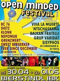 Open Minded Festival@Kulturgasthaus Bierstindl