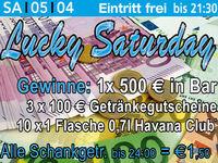 Lucky Saturday@Excalibur
