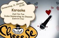 Karaoke@Cheeese