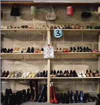 Nein ich habe keine Gäste- das sind alles meine Schuhe