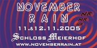 November Rain - Warm up@Schloß Meierhof