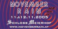 November Rain - DJ-Showdown@Schloß Meierhof