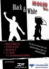 Black & White@Welser Messegelände