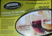 Wine & More@Marktplatz Wallern