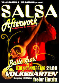 Salsa Afterwork@Volksgarten Banane