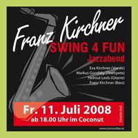 Jazzabend mit Franz Kirchner´s Swing4Fun@Coconut