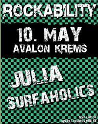 JULIA @ ROCKABILITY @Avalon Exil