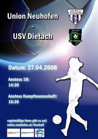 Sportunion Neuhofen - USV Dietach@Sportplatz Sportunion Neuhofen