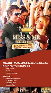 MISS & MR SZENE1 GALA