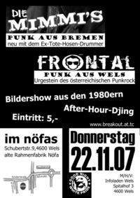 Punk! Frontal + Mimmis@Nöfas/AlteRahmenfabrik