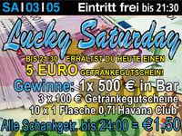 Lucky Saturday @Excalibur