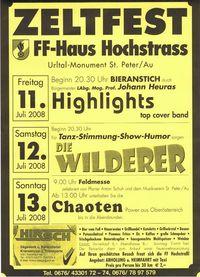 Zeltfest der FF-Hochstrass@FF Haus Hochstrass