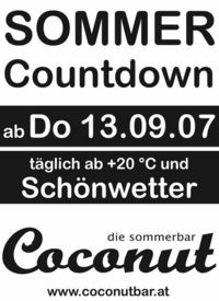 Sommer Countdown@Coconut