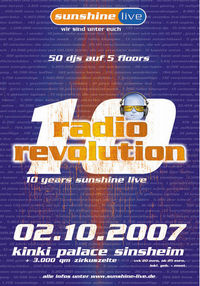 10 years radio sunshine live@Club Diskothek Kinki Palace