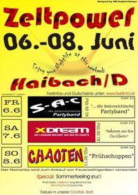 Zeltpower 2008 Haibach@Haibach