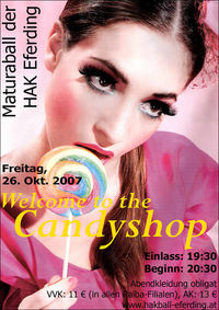 Welcome to the Candyshop@Hak Eferding