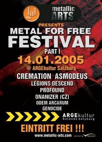 """Metal for free"" Festival@ARGEkultur"