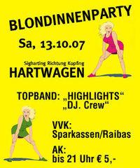 Blondinnenparty@Zelt