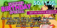 Summer Birthday Special