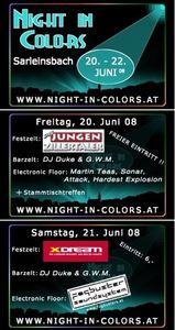 Night in Colors@Sportplatz Sarleinsbach