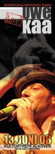 Reggae Lounge - UWE KAA (rootsrockers, münchen) LIVE@Kulturtreff