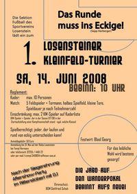 1. Losensteiner Kleinfeldturnier@Fußballplatz Losenstein