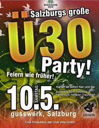 Ü30 Party Gusswerk
