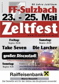 Zeltfest FF-Sulzbach@Gasthaus Derfler